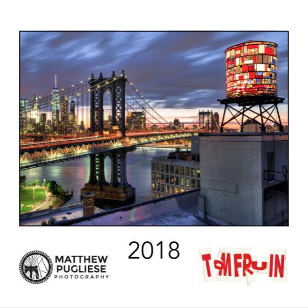 2018 Tom Fruin Calendar